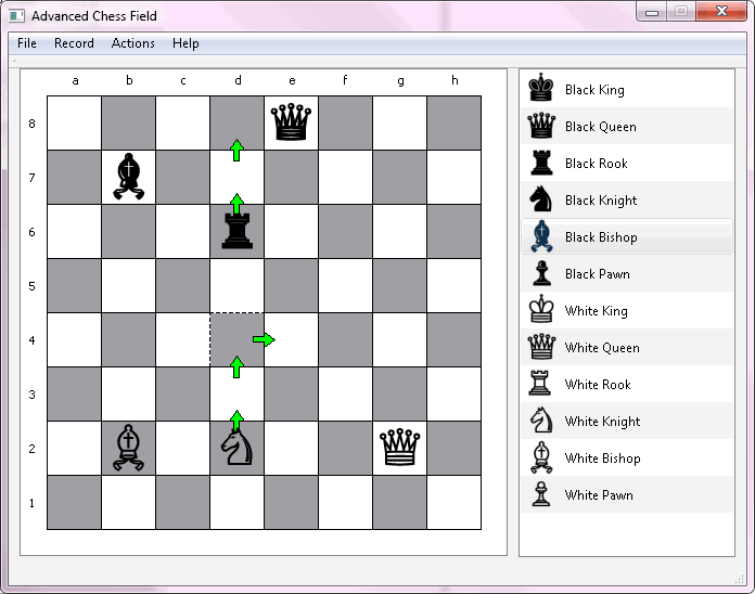 Advanced Chess Field Editor